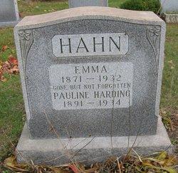 Emma <i>Zimmer</i> Hahn