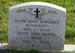 Sr Mary Margaret McSweeney