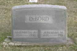 Elizabeth Ann <i>Whitehurst</i> DeBord
