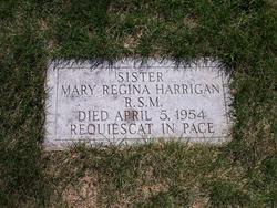 Sr Mary Regina Harrigan, RSM