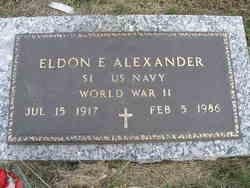 Eldon Bryan Alexander