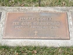 Pvt Harry Corey