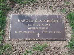 Harold G Atchison