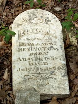 Eliza A Henington
