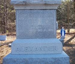 Alvira Samantha <i>Greene</i> Alexander