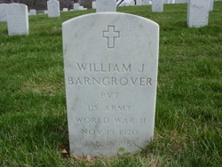Pvt William James Barngrover