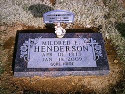 Mildred Eveline <i>Snow</i> Henderson