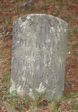 Mary Matilda <i>Coffey</i> Welch