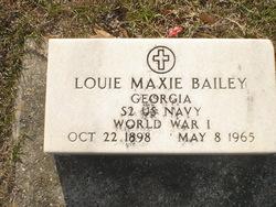 Louie Maxie Bailey