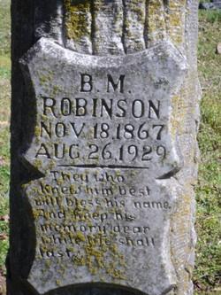 B. M. Robinson