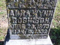 Anna <i>Wynn</i> Robinson