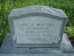 Macie Martha Robinson