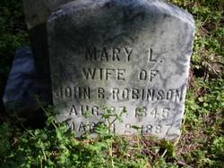Mary L Robinson