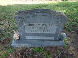 Carrie M. <i>Slocum</i> Whitten