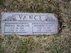 Herbert Glenn Vance, Jr