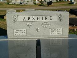 Olphida B Abshire