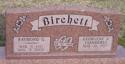 Georgene J. <i>Sanders</i> Birchett