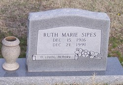 Ruth Marie <i>Birchett</i> Sipes