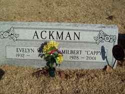 Milbert Edwin Cappy Ackman