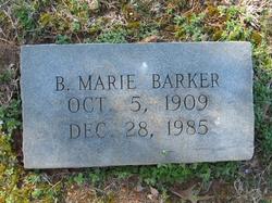 Beulah Marie Marie <i>Rhyne</i> Barker
