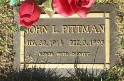 John Lewis Pittman