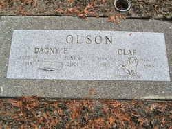 Dagny Esther <i>Aasen</i> Olson