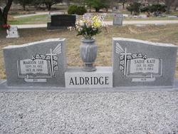 Sadie Kate Aldridge