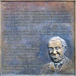 Rudolf Antonius Heinrich Platte