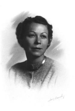 Winifred Wilde <i>Hayes</i> Baldwin