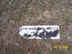 Mattie <i>McClendon</i> Bartlett