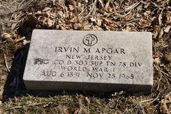PFC Irvin M Apgar