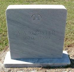 Almand A. Register