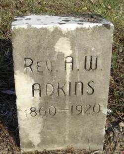 Rev Alexander W. Adkins