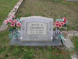 Minnie B Champion