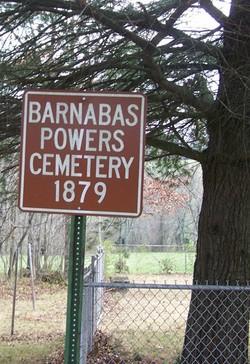 Barnabas Powers Cemetery
