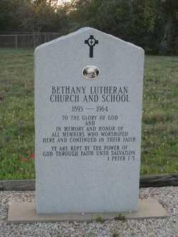 Bethany Lutheran Church Cemetery
