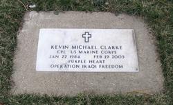 Corp Kevin Michael Clarke