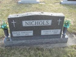 Marian Rachel <i>Edmondson</i> Nichols