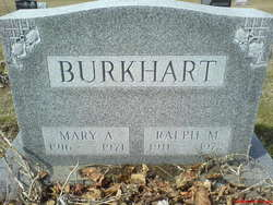 Ralph Monroe Rook Burkhart