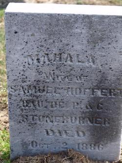 Mahala <i>Stoneburner</i> Hoffert