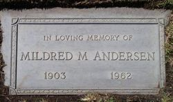 Mildred Mable <i>Morse</i> Andersen