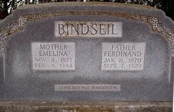 Emelina <i>Burkhardt</i> Bindseil