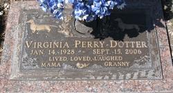 Nannie Virginia <i>Perry</i> Dotter
