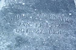 Samuel Franklin Davis Abernathy