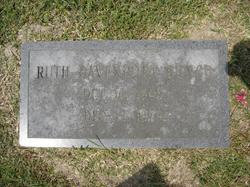 Ruth <i>Davenport</i> Bunch