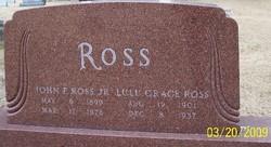 John F Ross, Jr
