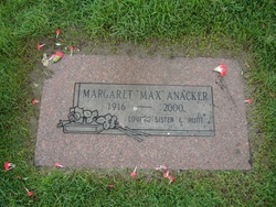 Margaret Maxine Max Anacker