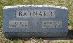 Effie Dell <i>Lee</i> Barnard