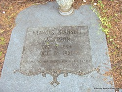 Frances <i>Stansell</i> Anderson