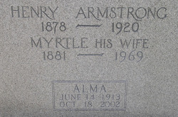 Myrtle <i>Montgomery</i> Armstrong